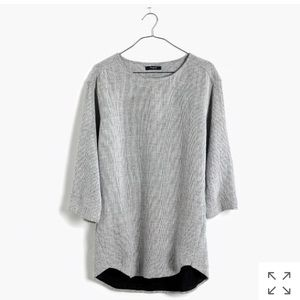 Madewell double faced slouchy pull over